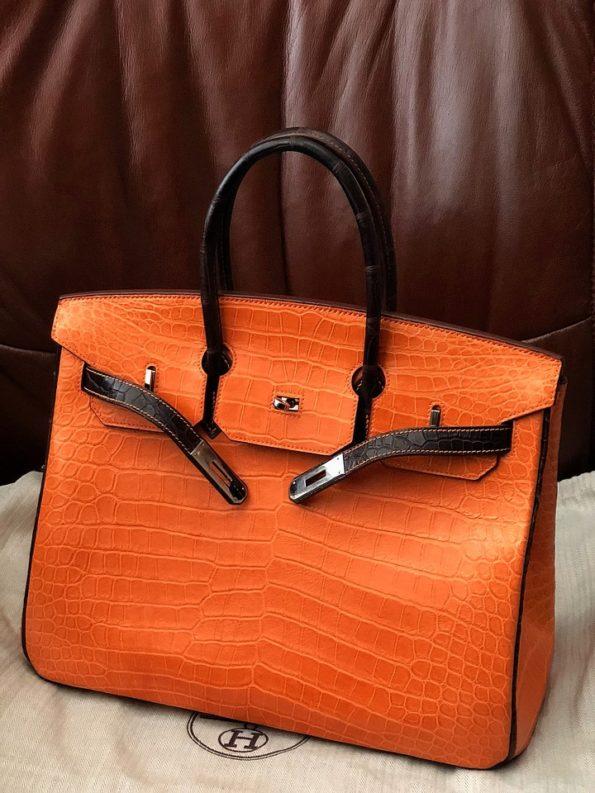 d06c8c2e50a0 Сумка Hermes Birkin Crocodile – Комиссионный магазин – Original Fashion