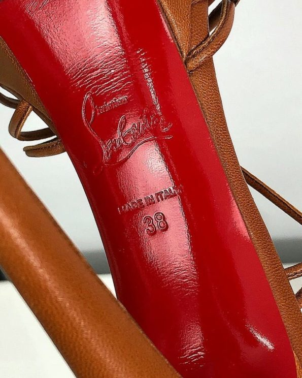 fb6c4d61c8ac Босоножки Christian Louboutin – Комиссионный магазин – Original Fashion