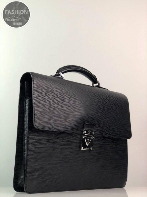 4c67c03afce4 Черный мужской портфель Louis Vuitton – Комиссионный магазин – Original  Fashion