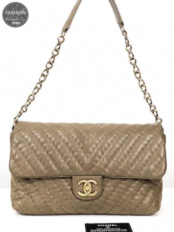f3410763518a Сумка Chanel Chevron Jumbo Flap – Комиссионный магазин – Original ...